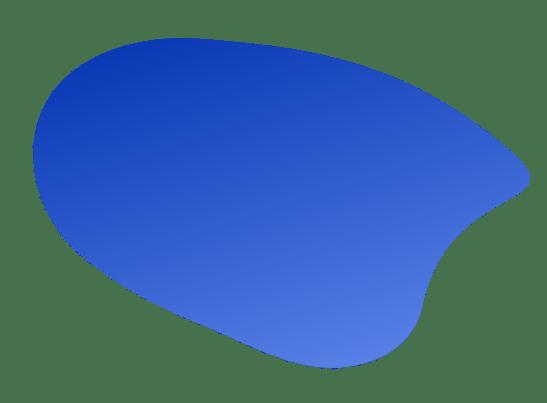 blaue blasen form